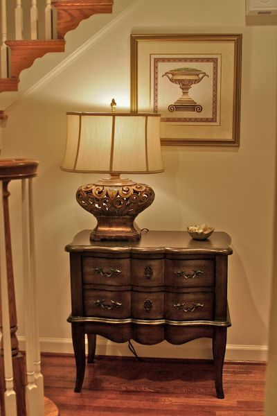 A passion for home project foyer for Small foyer cabinet