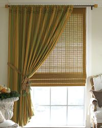 A passion for home a color challenge for Smith and noble natural woven shades