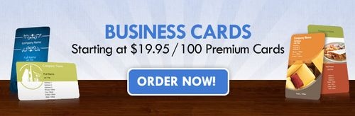 500 free business cards  overnight prints