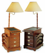 lamp table. Black Bedroom Furniture Sets. Home Design Ideas